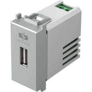 POLNILNIK USB 5V 2,1A 1M ES