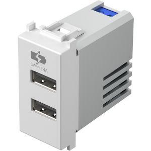 POLNILNIK USB 5V 2,4A 1M PW