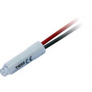 SIJALKA LED 24V AC/DC 0,2W RD