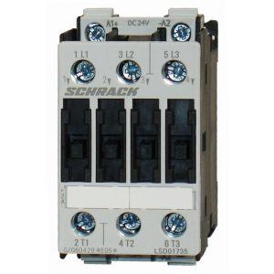 Kontkator 7,5kW, 17A AC3, 24V DC, velikost 0