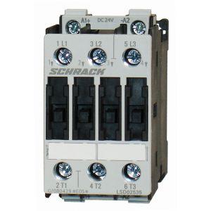 Kontkator 11kW, 25A AC3, 24V DC, velikost 0